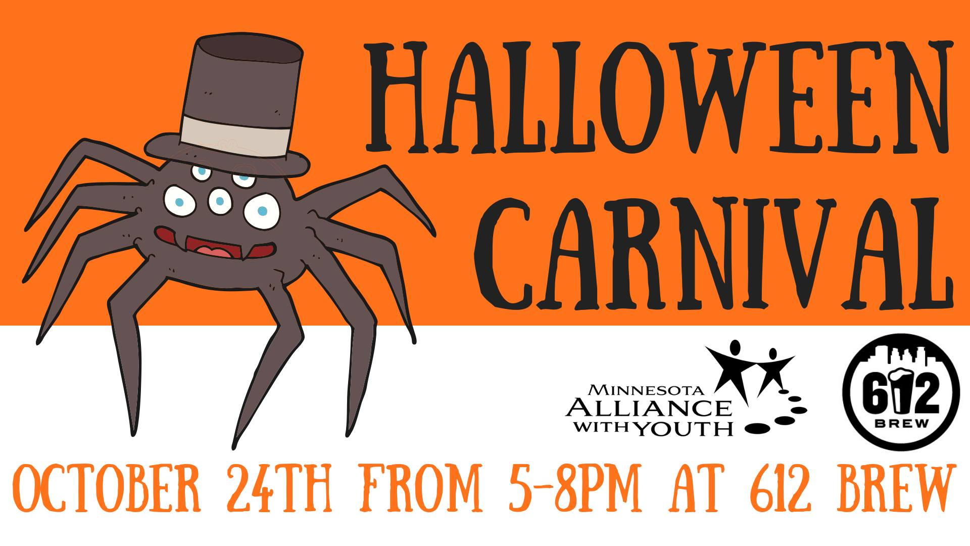 halloween carnival- a minnesota alliance with youth fundraiser
